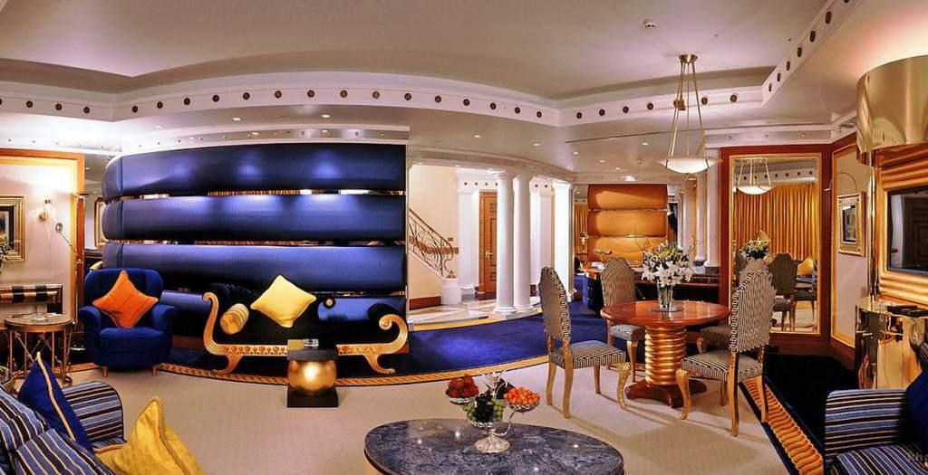 Квартира-студия в египетском стиле