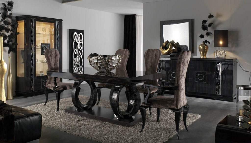 Мебель для гостиной ар-деко