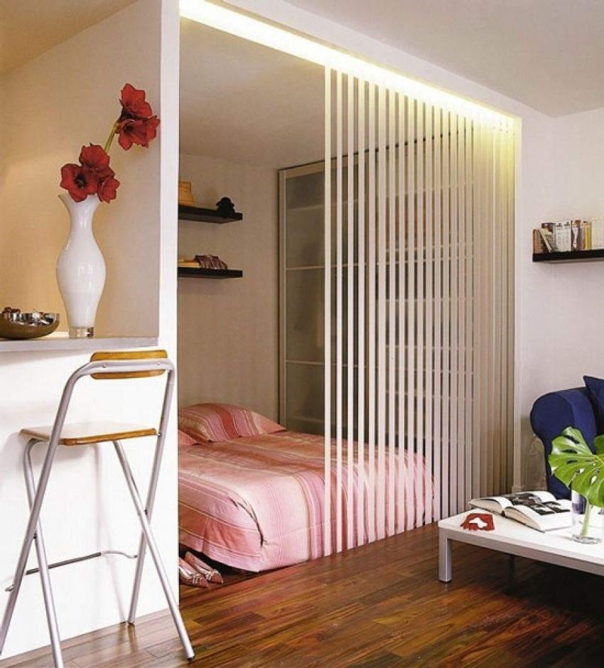 Зонирование объединенных помещений в маленькой квартире