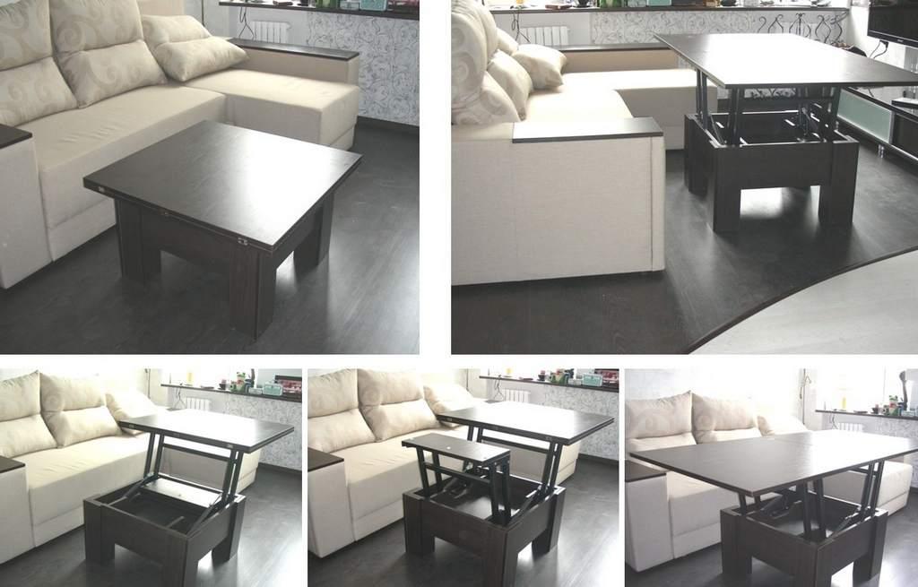 Стол-трансформер для маленькой квартиры