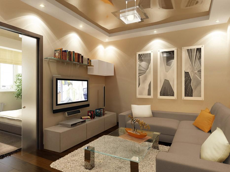Световое оформление небольшой квартиры