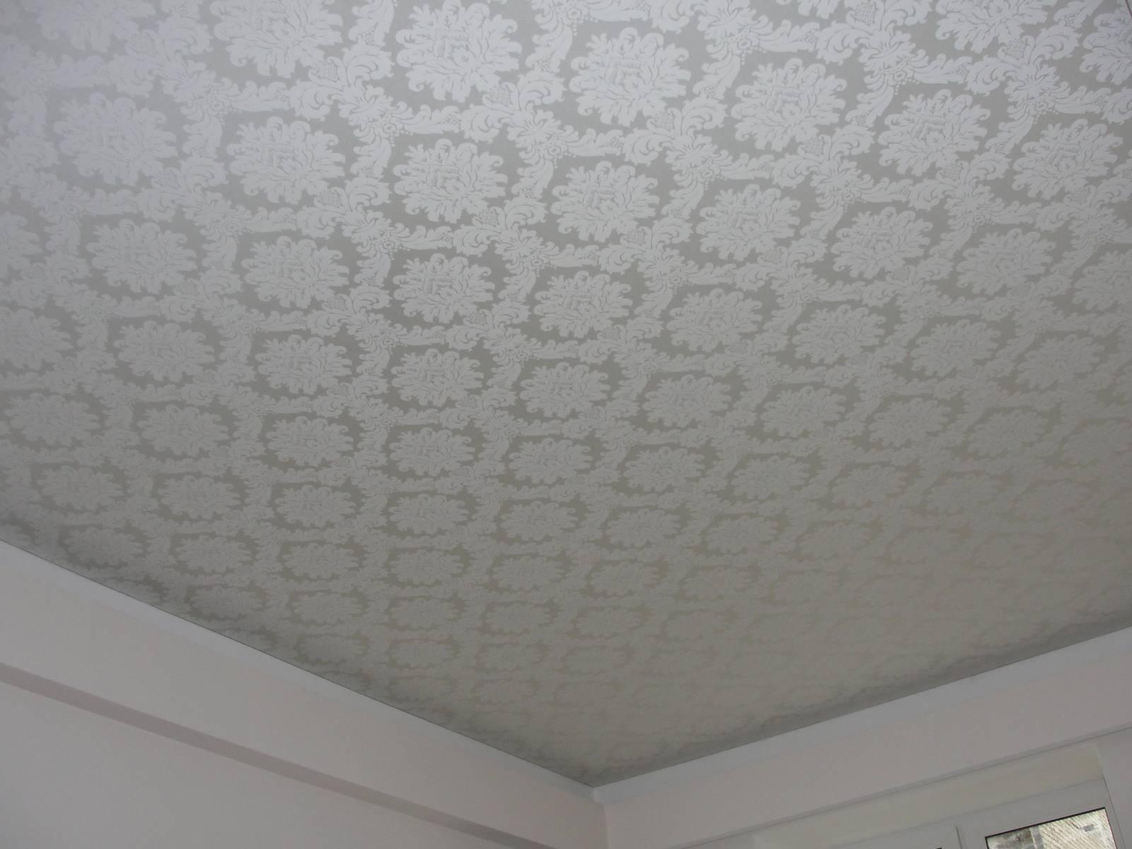 Тканевый натяжной потолок