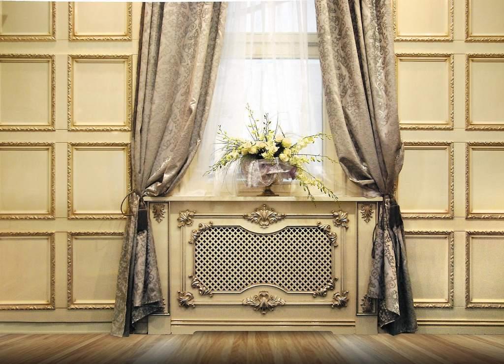 Декоративная отделка радиаторов отопления