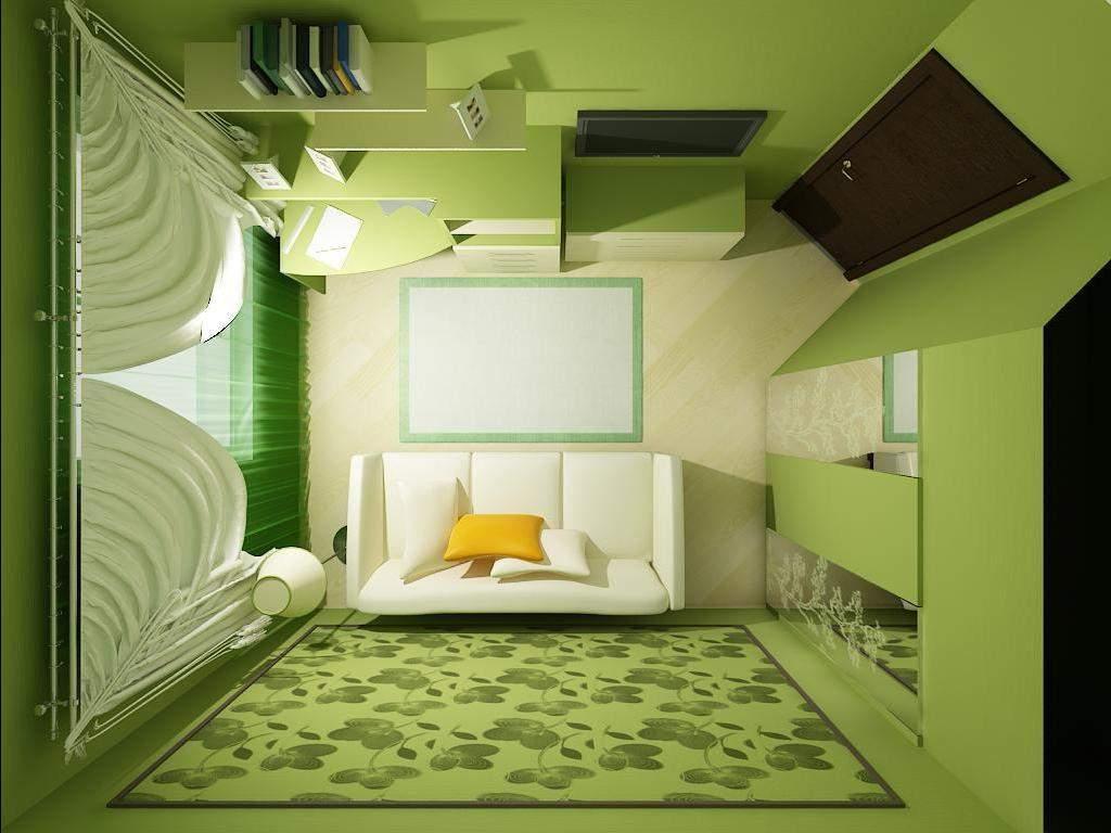 Планируем дизайн небольшой комнаты