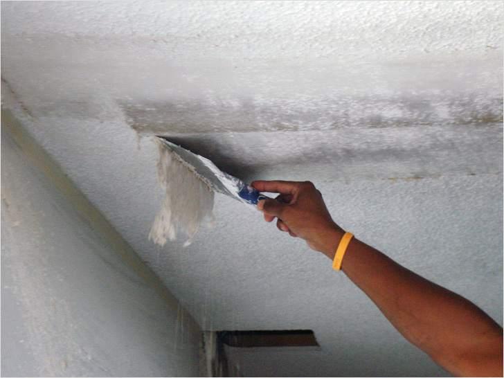 Готовим потолок к натяжному потолку