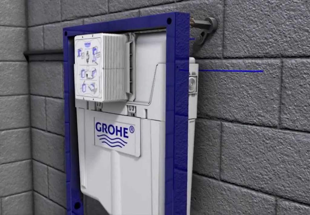 Инсталляция известного германского бренда Grohe