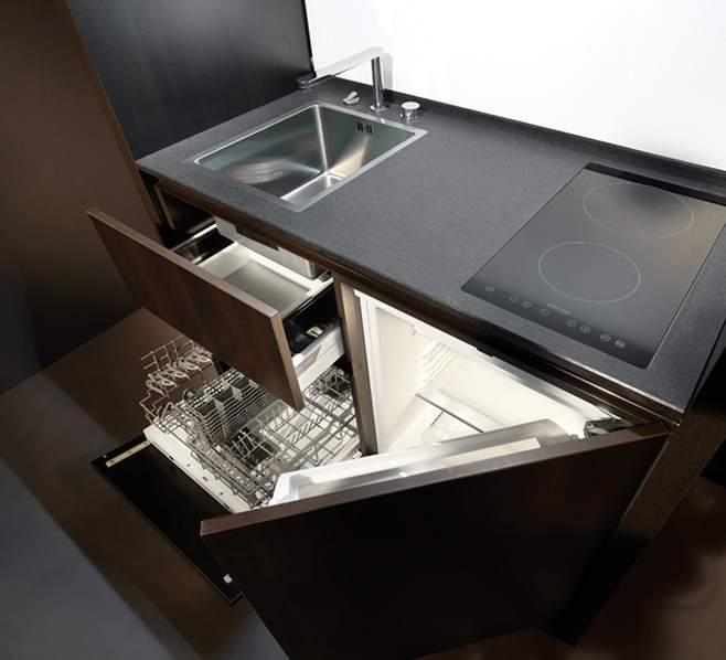 Компактный кухонный гарнитур для компактной кухни