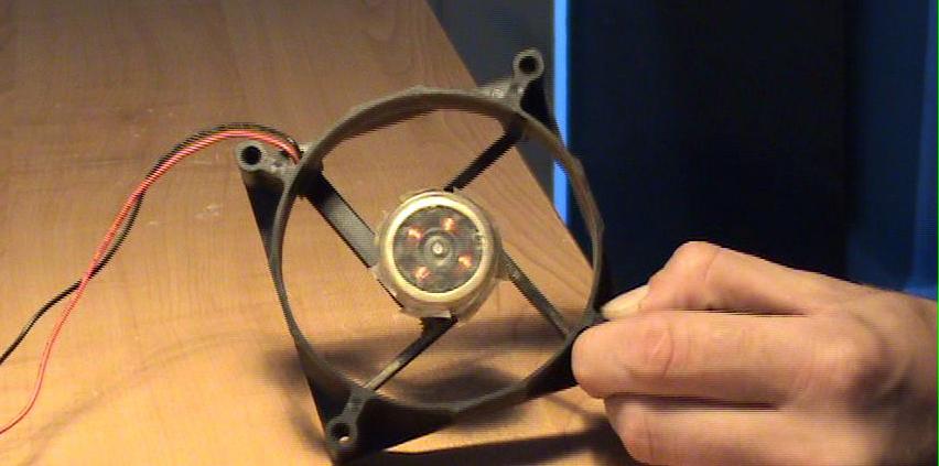 Кулер для домашнего воздухоочистителя