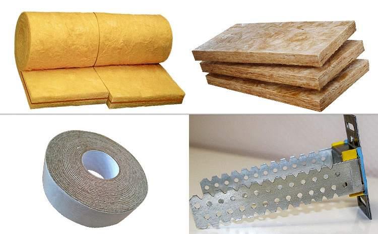 Материалы, которые понадобятся для звукоизоляции потолка