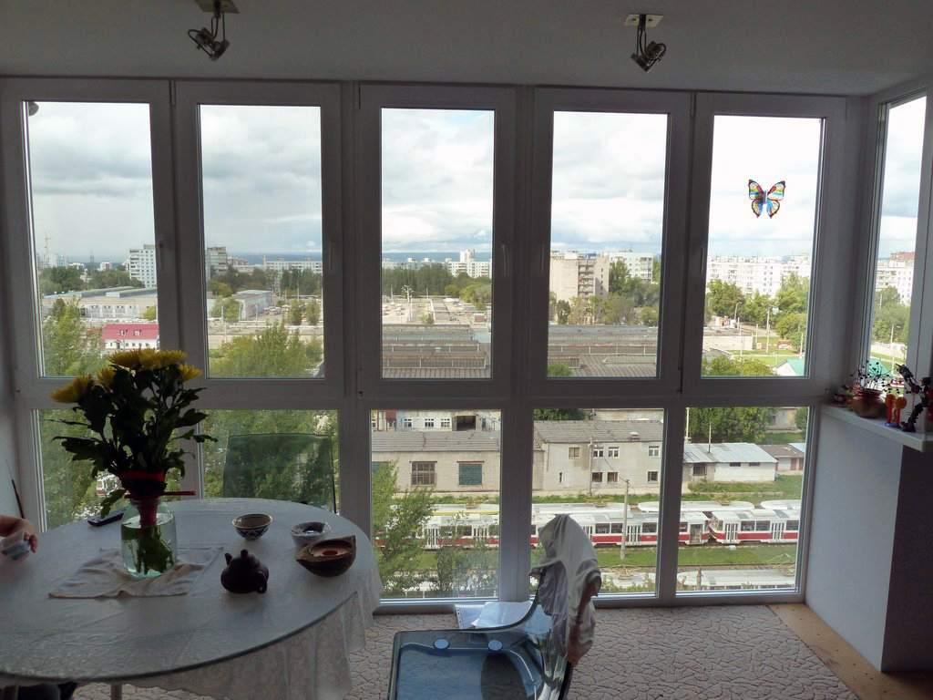 Недостатки панорамных окон с рамами