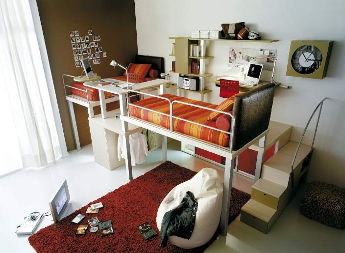 Многофункциональная трансформирующаяся мебель поможет выиграть драгоценные метры