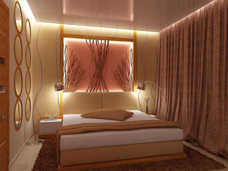 Правильное освещение небольшого пространства создает необычайный уют