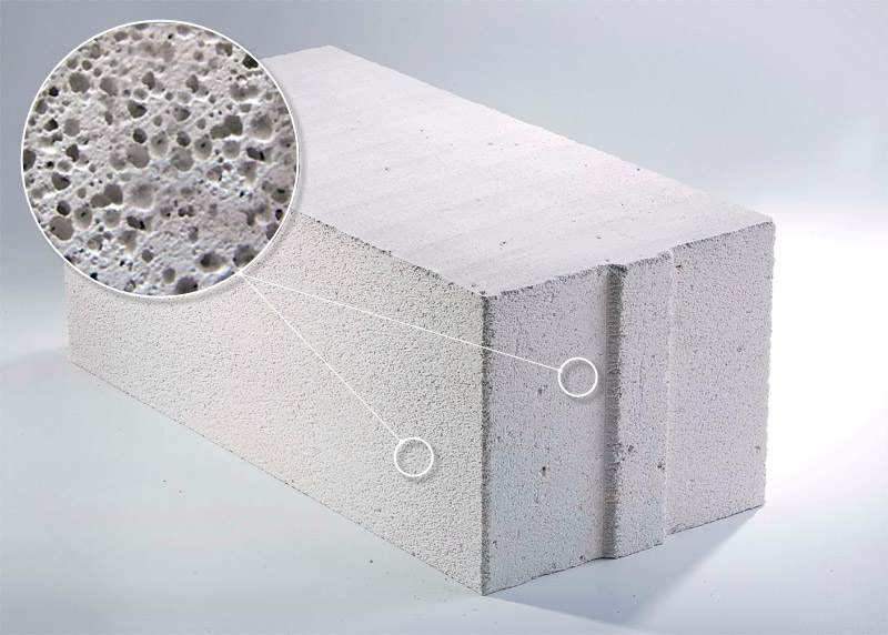 Недостатки блоков из ячеистого бетона