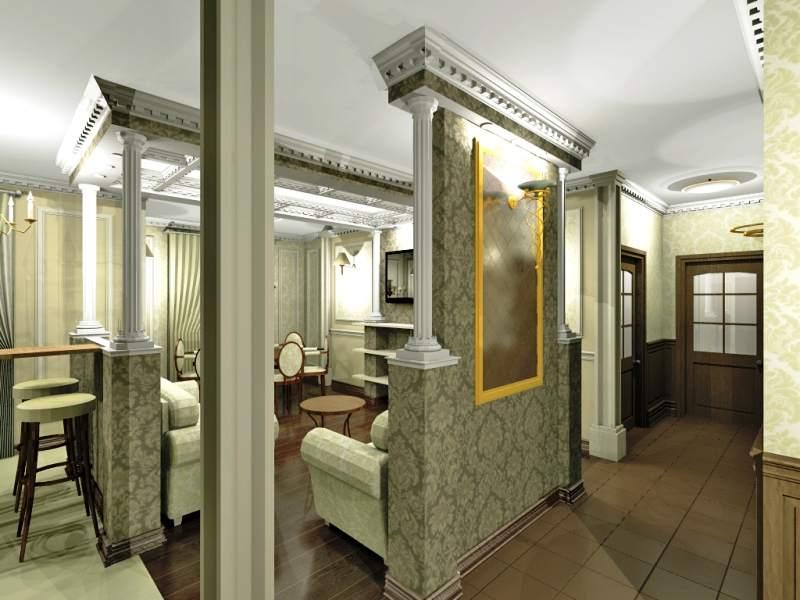 Слияние двух комнат небольшой квартиры
