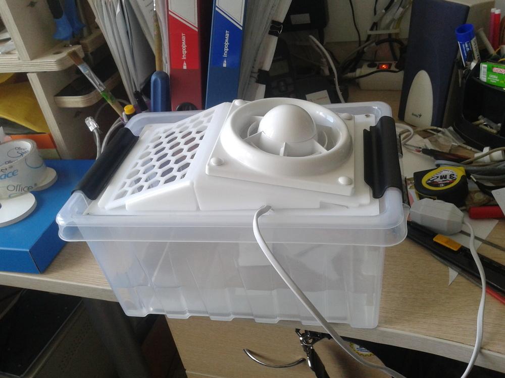 Прибор для очистки и осушения воздуха руками домашнего мастера