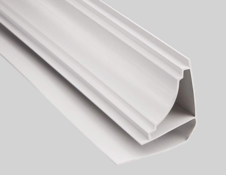 Потолочный плинтус для пластиковых панелей