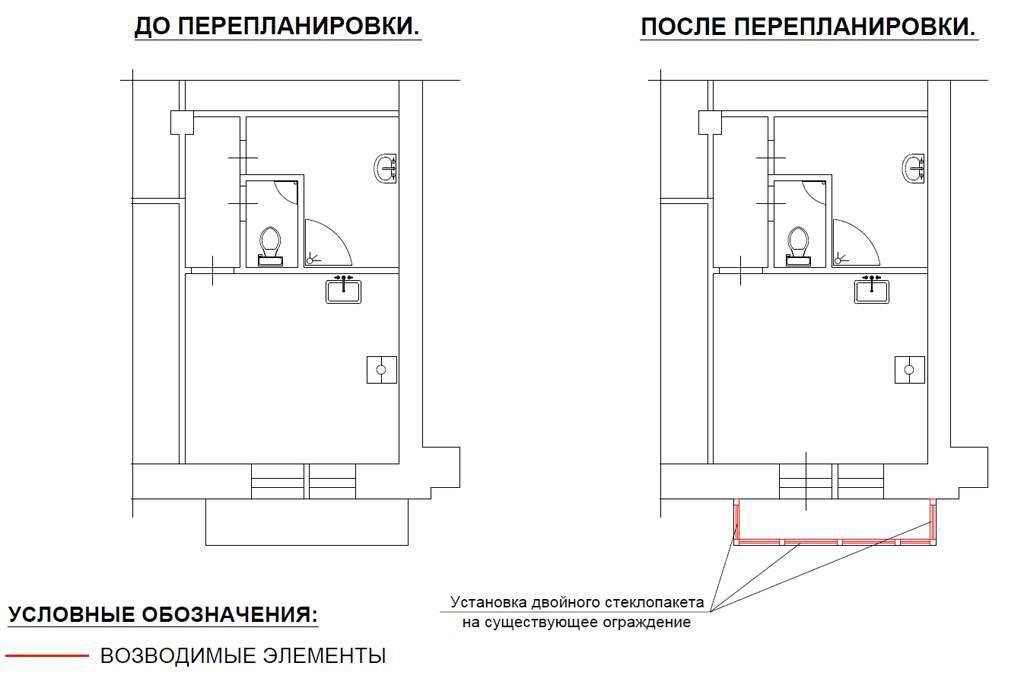 Остекление балкона, как и перепланировка, требует разрешения