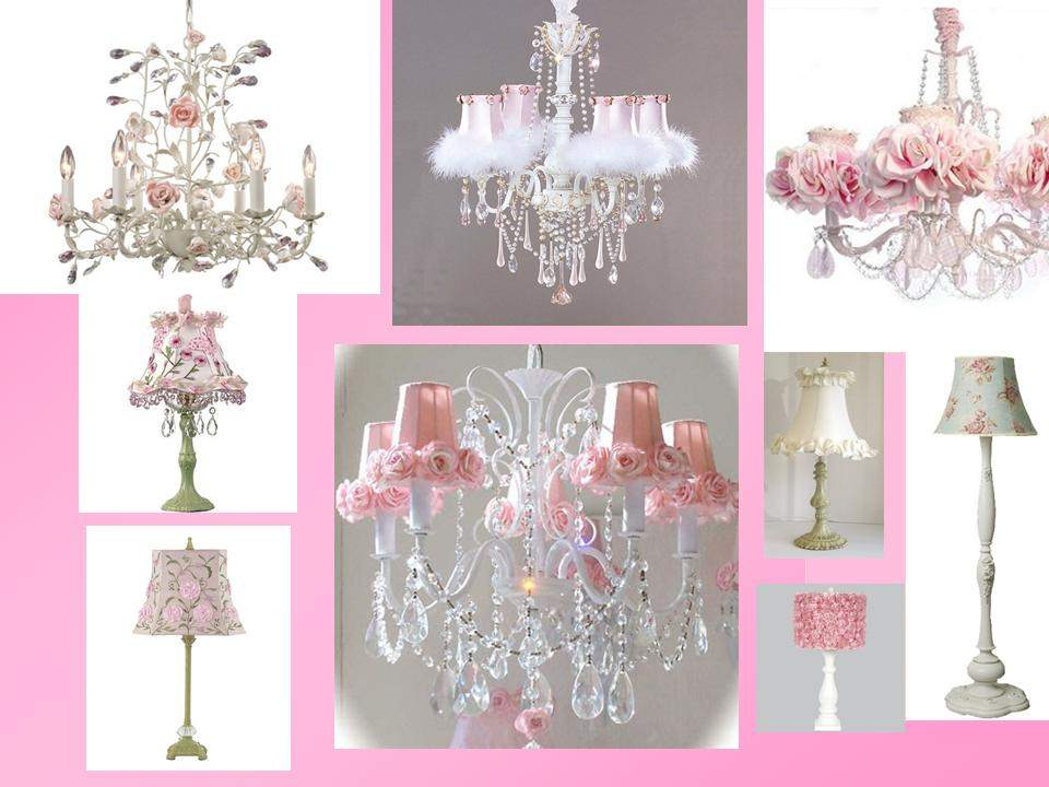 Стильные светильники, оформленные розами и хрустальными подвесками