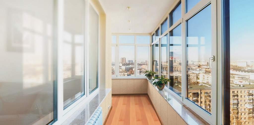 Теплое остекление балкона или лоджии