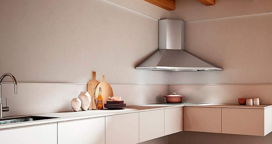 Угловой вариант кухонной помощницы