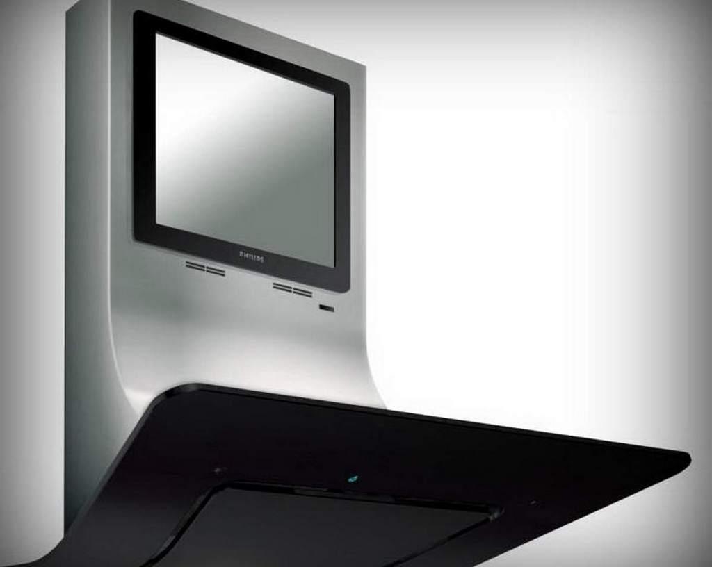 Ультрасовременная система со встроенным телевизором