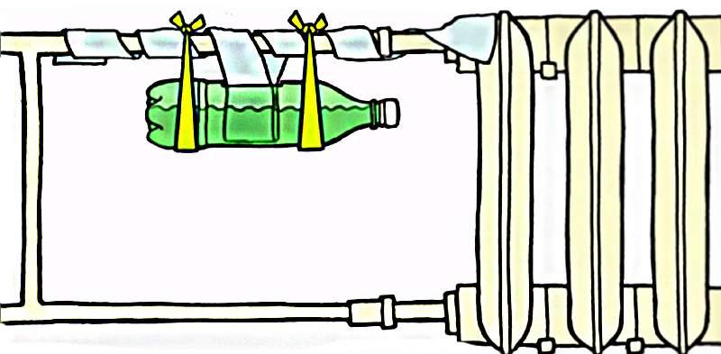 Вторая жизнь пластиковой бутылки избавит жилплощадь от сухости