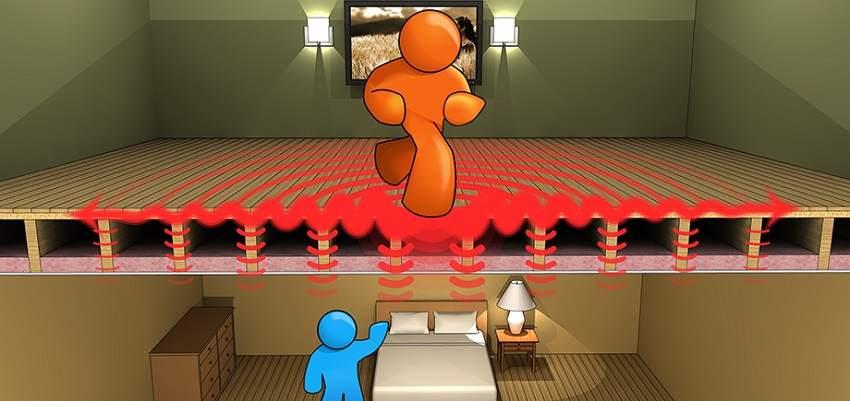 Иногда шумоизоляция потолка бывает совершенно необходима