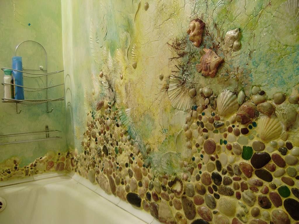 Декор на стене в обычной хрущевке своими руками