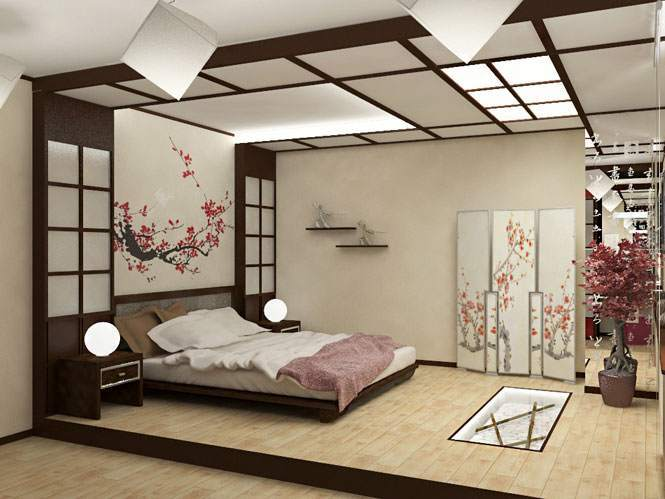 Национальные японские мотивы помогают сменить обстановку и расслабиться