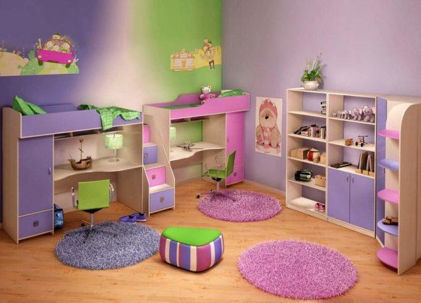 Внимательно подходим к выбору мебели для мальчика и девочки