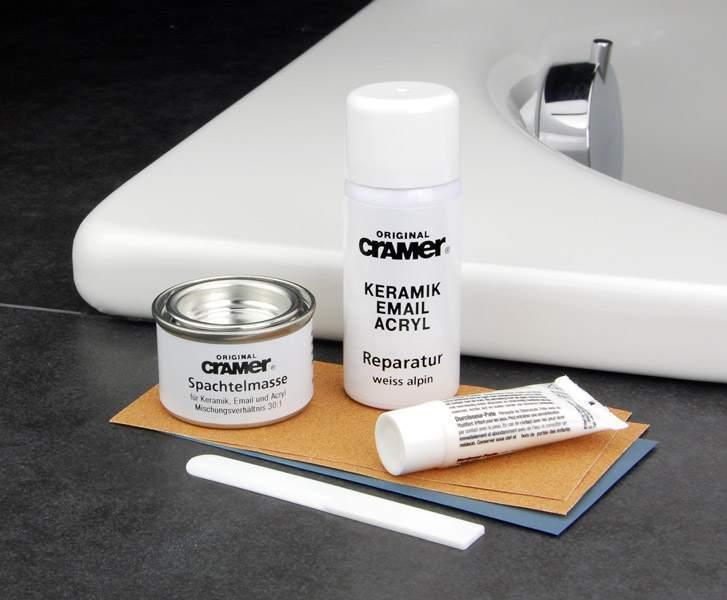 Набор для восстановления поврежденного покрытия ванн