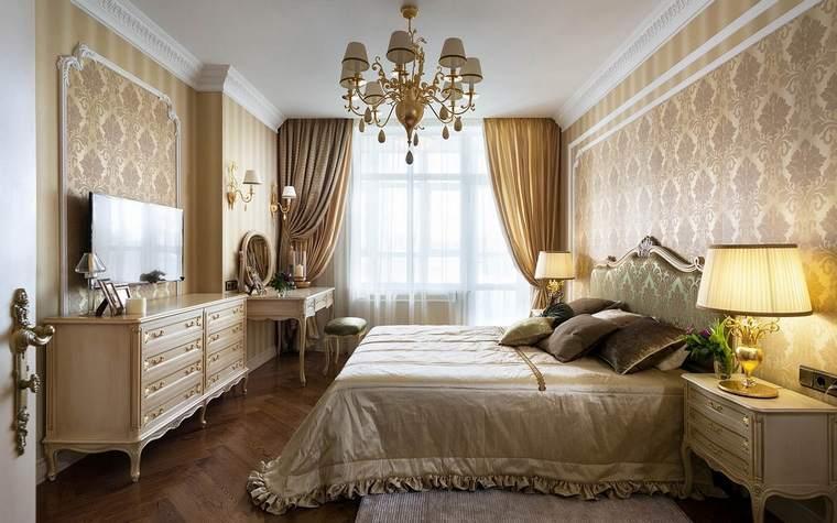 Классический стиль в традиционном его варианте или в современном прочтении будет уместен в комнате любого размера