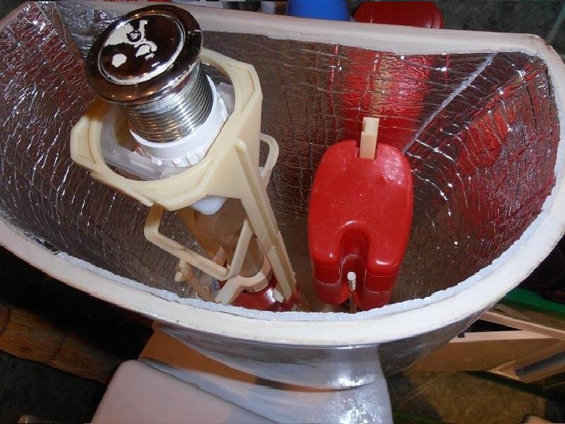 Внутренняя теплоизоляция поможет предупредить появление конденсата