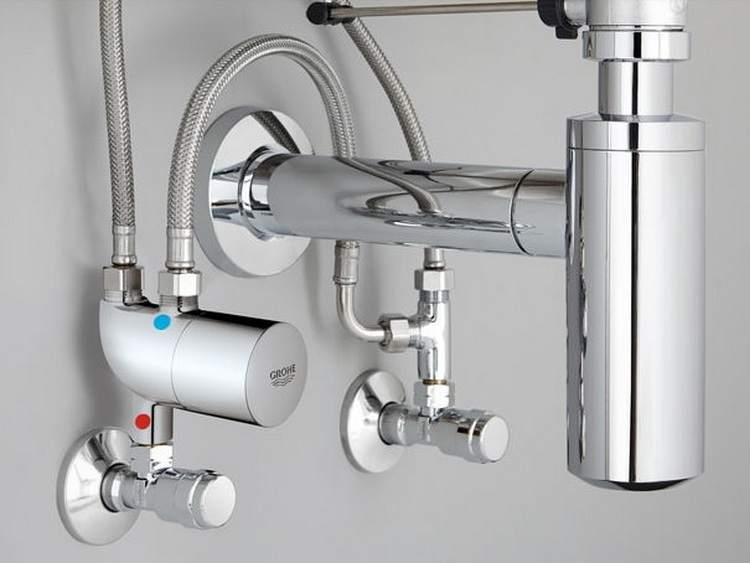 Необходимо помнить о правилах монтажа подвода воды