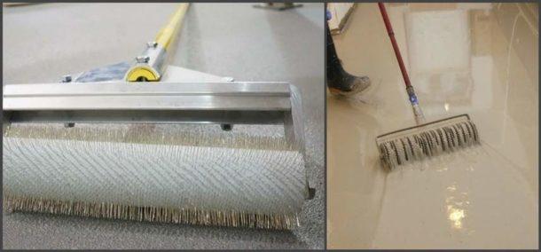 Специальный игольчатый валик для удаления воздушных вкраплений