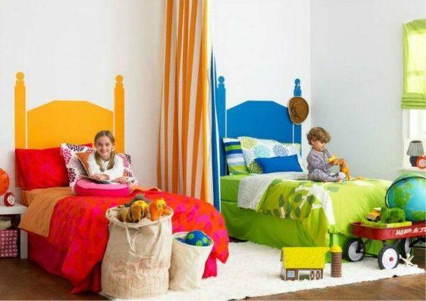 Первый важный момент - это выбор помещения для организации спальни для брата и сестры