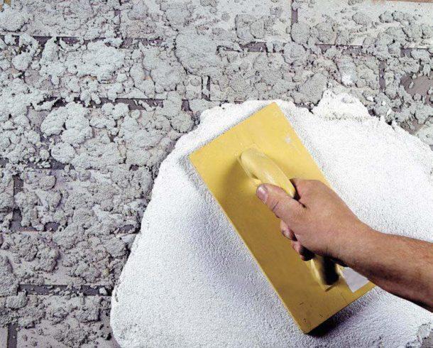 Выравнивание стены из бетона