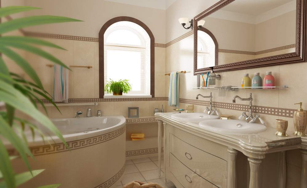 Использование зеркал в интерьере в средиземноморском стиле