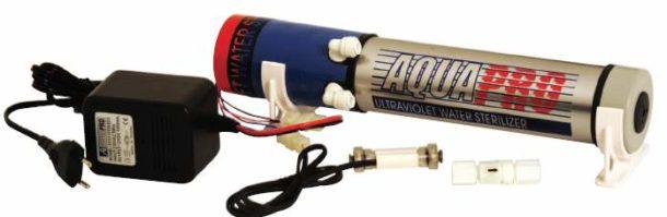 УФ-фильтр идеален для домашнего использования, но не справится с большими объемами воды