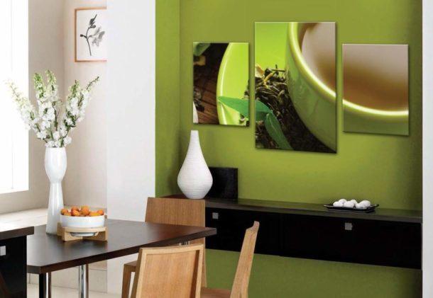 Изображение для кухни, подобранное по правилам фэншуй, привнесет в обстановку помещения гармонию