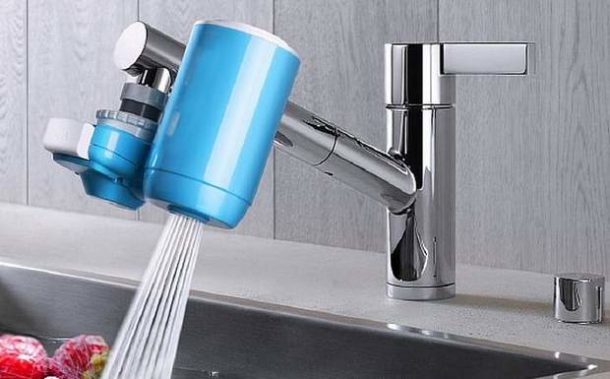 Насадка-очиститель для водопроводной воды
