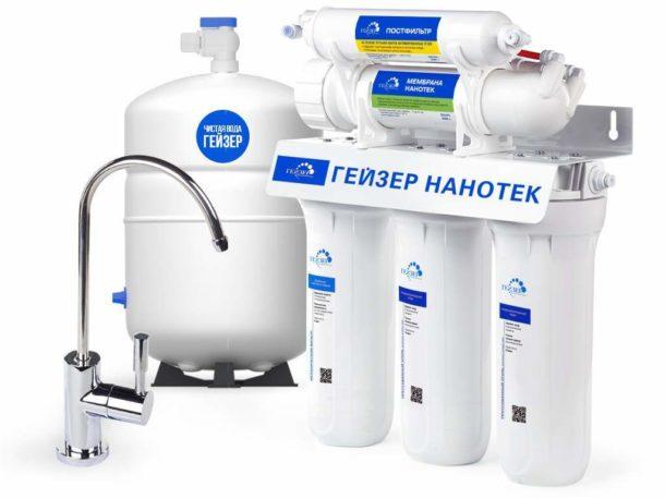 Рейтинг фильтров для воды под мойку 2018