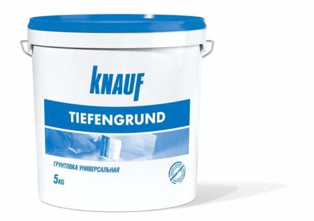 Грунтовка «Тифенгрунд» от «Кнауф»