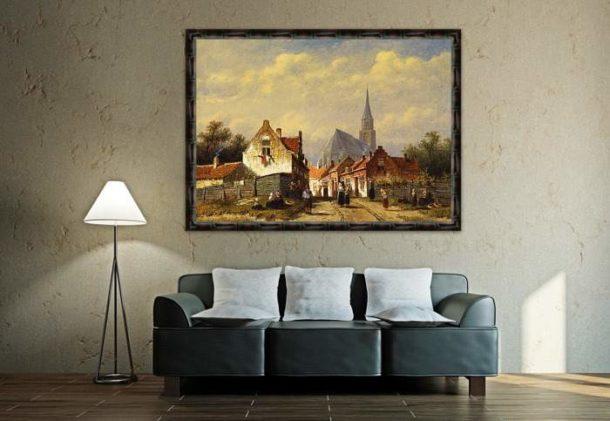 Правильно подобранное полотно может стать лучшим украшением интерьера