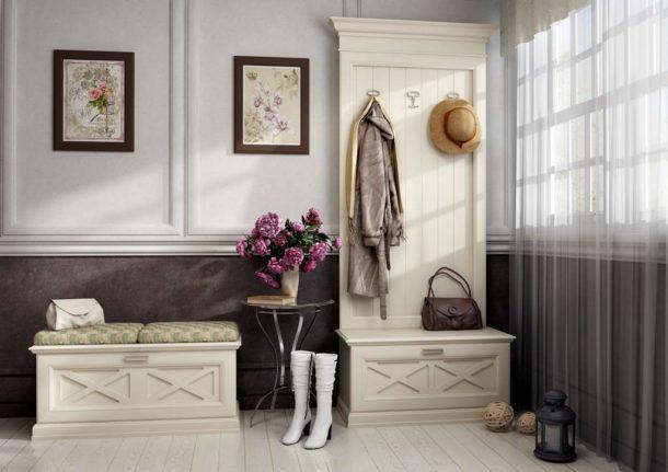 Стиль прованс требует особого подхода к украшению стен