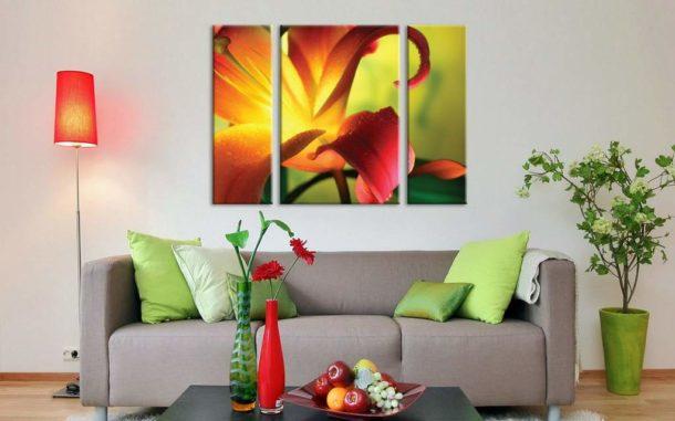 Триптих флористической тематики
