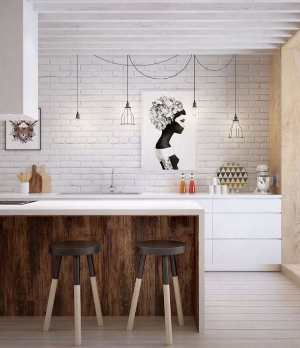 Изображения должны соответствовать стилю кухни