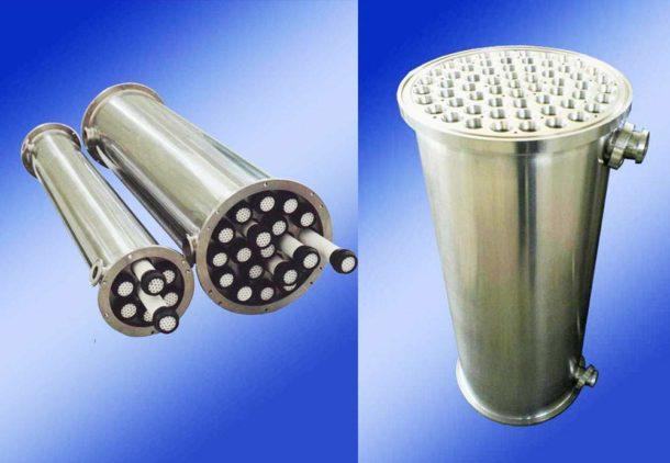 Система водоочистки с керамической мембраной