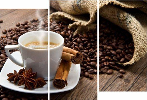 Кофейный триптих для кухни