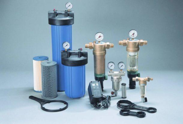 Системы, предназначенные для первичной очистки воды